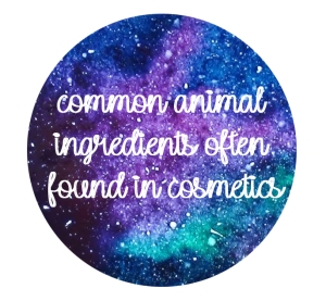 TWPS - animal ingredients in cosmetics