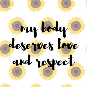 positive body affirmations